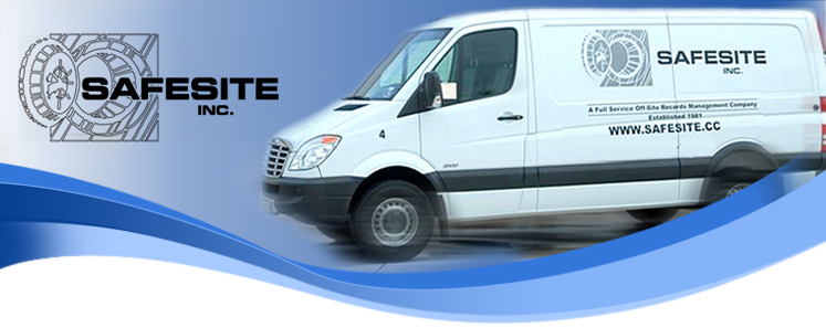 Safesite Inc - A full service off-site records management company.